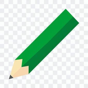 綠色鉛筆圖標說明