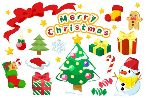 聖誕節圖圖標集
