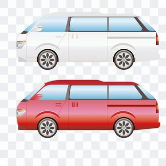 車側面21 ワゴン車