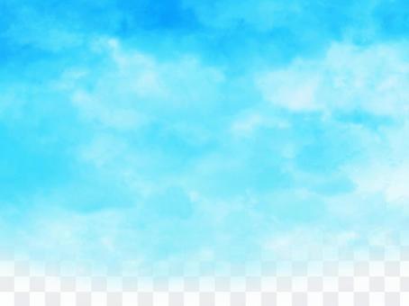Hand-drawn sky [4] Summer sky
