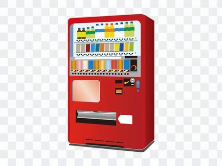 自動售貨機(紅色)