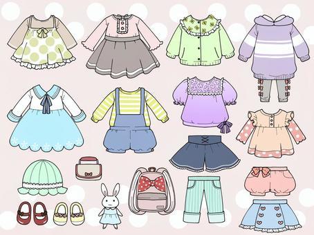 女孩衣服春天