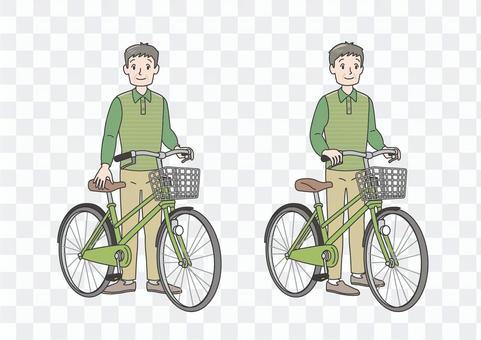 交流保險老年人自行車道路安全