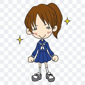 New life _ Sailor suit