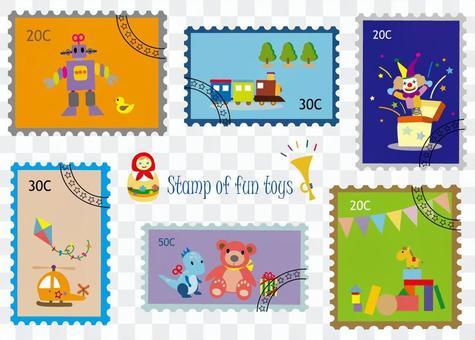 郵票風格系列5玩具