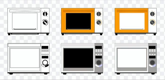 微波爐烤箱4C2C