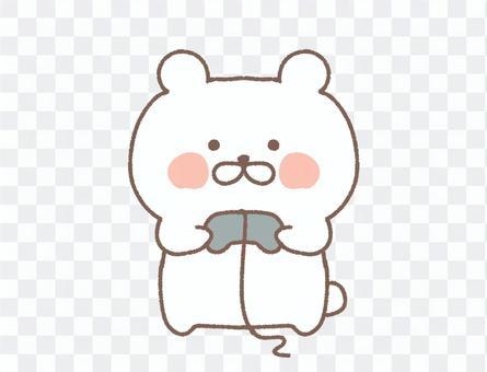 北極熊玩遊戲
