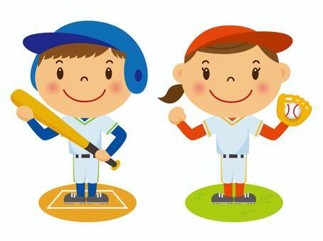 我打棒球!