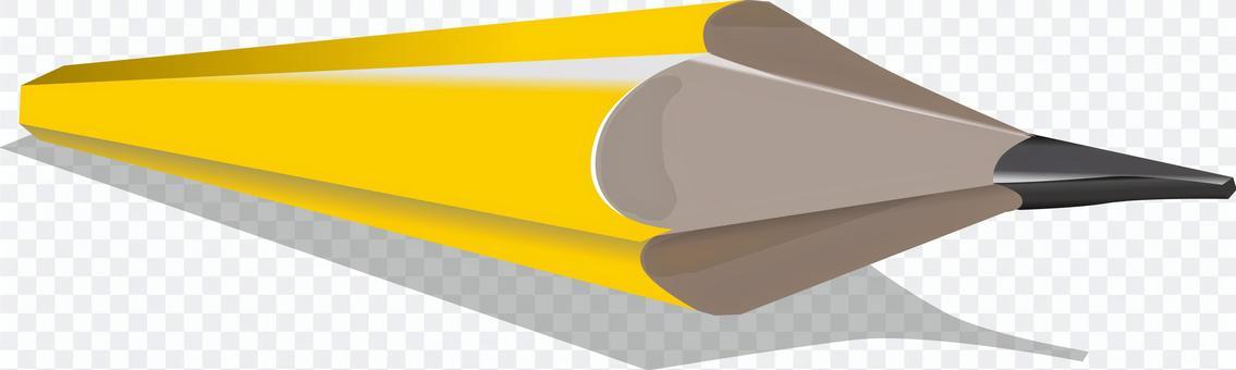 Pencil yellow