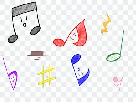 Musical Note _ Colorful _ Expressions 02