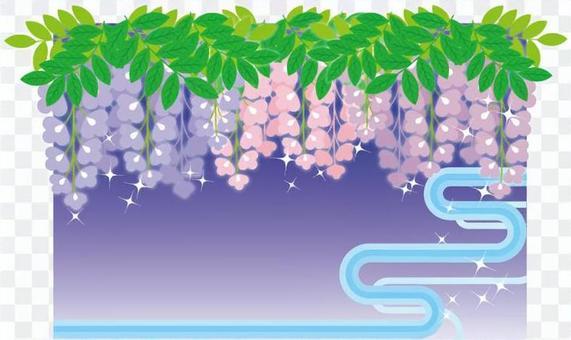 紫藤花框架2