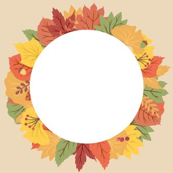 秋葉裝飾框架 4