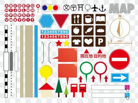 Map Part Material