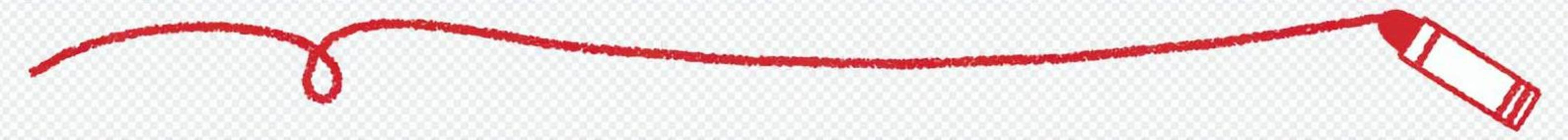 蠟筆和線條_紅色
