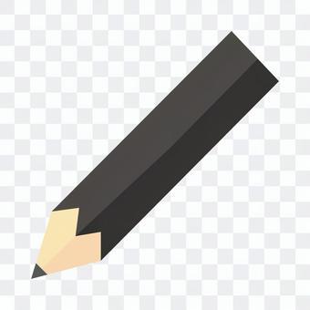 黑色鉛筆圖標說明