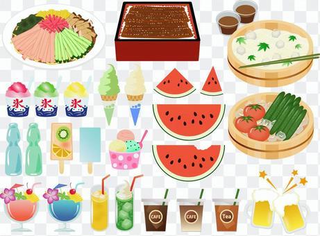 夏季食物集