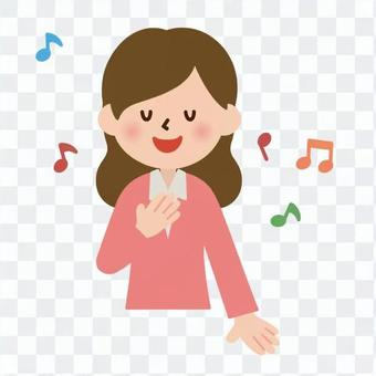 歌をうたう