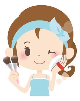 家庭主婦A *美容_化妝