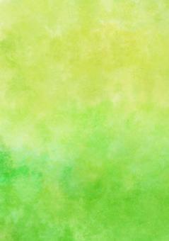 Yellow green watercolor wallpaper · Vertical A4 Novice