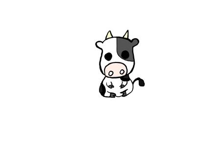 牛のかわいいイラスト