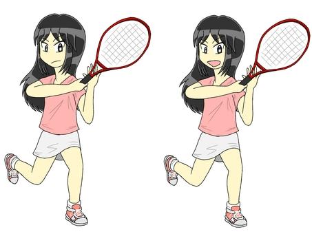 Forehand stroke