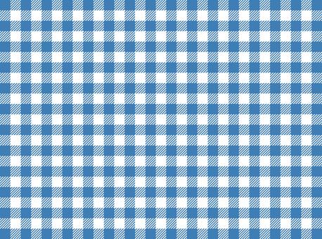 方格布式(藍色)