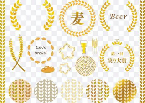 小麥會徽set_wheat模式色板