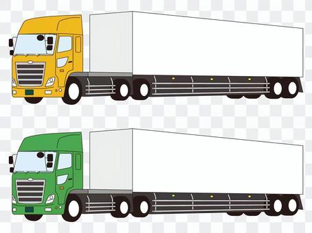 Trailer heavy truck truck