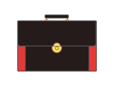 Leather bag 10-3 (black)