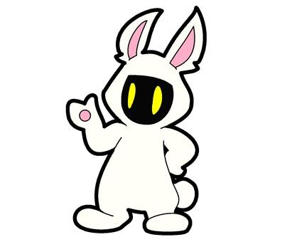白兔古裝鬼