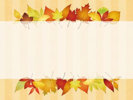 Various autumn leaves · autumn leaves Frame 04