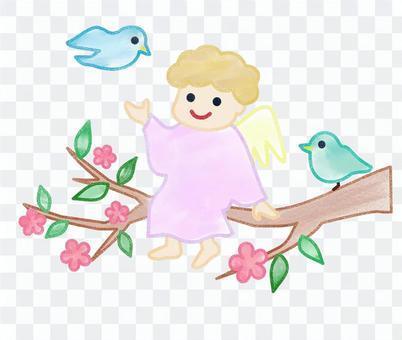 天使與鳥2