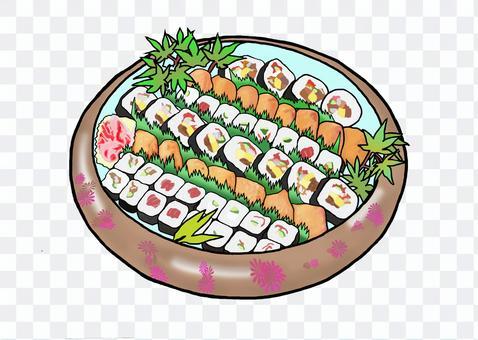 茨城和壽司卷