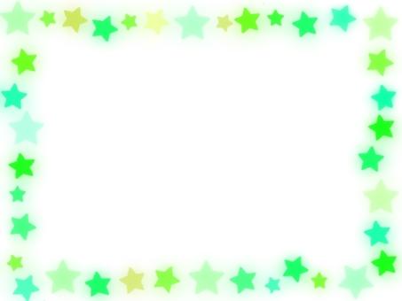 明星多彩幀綠色色調