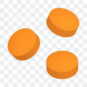 平板電腦,平板電腦(橙色)