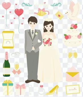 快乐的婚礼! 〜黑发ver〜