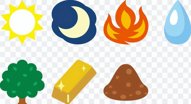 Day of the week emoticon icon