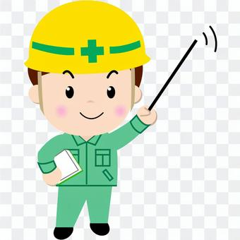 Construction worker (point)