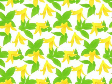 Scallops fern pattern