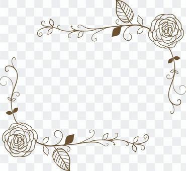 Flower corner decoration