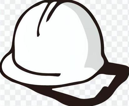 頭盔(白色/不透明)