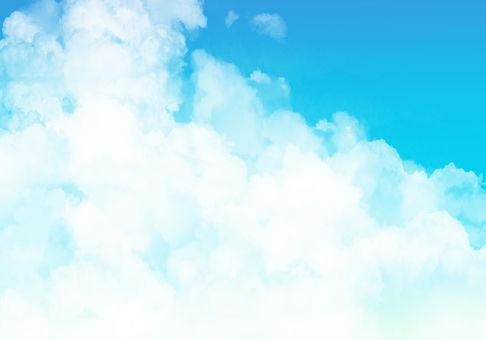 藍藍的天空雲背景