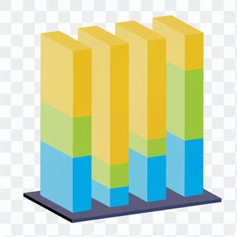 三維垂直條形圖5