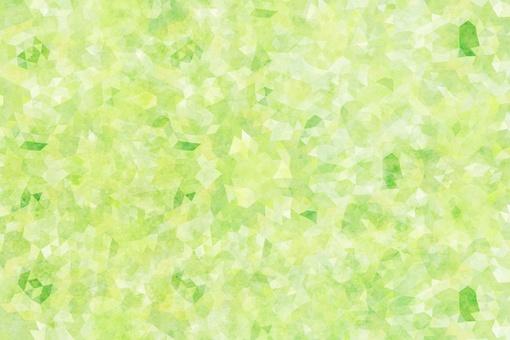 수채화 화풍 모자이크 녹색 질감 배경