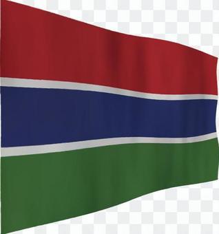 岡比亞國旗
