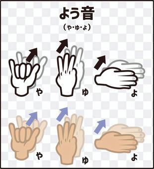 手指拼寫(手語)聲音