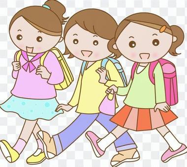 小学在校学生