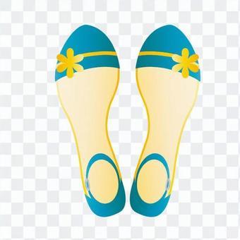 涼鞋(藍色)
