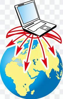 Internet environment net crime wireless LAN picture
