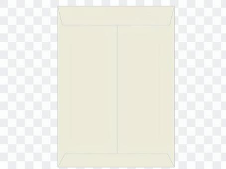 Envelope corner 2 A4 face down